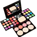 New Makeup Palette Set 24 Color Eyeshadow 8 Color Lip Gloss Foundation Puff Comstic Powder Blusher Women Beauty Tool
