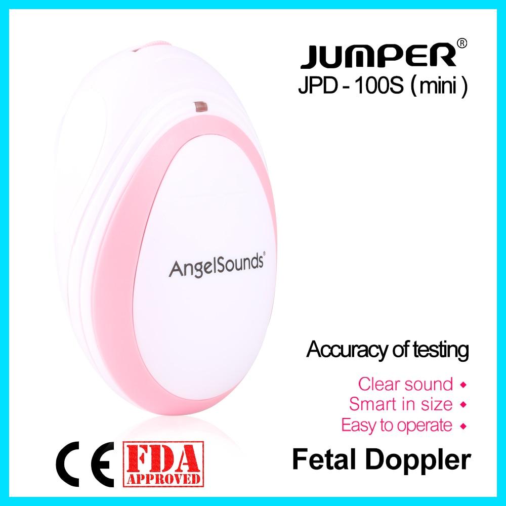 jumper  Pocket Fetal Doppler Baby Heartbeat Monitor Household Health CE FDA Approved 3M Probe Headset JPD-100S(mini)jumper  Pocket Fetal Doppler Baby Heartbeat Monitor Household Health CE FDA Approved 3M Probe Headset JPD-100S(mini)