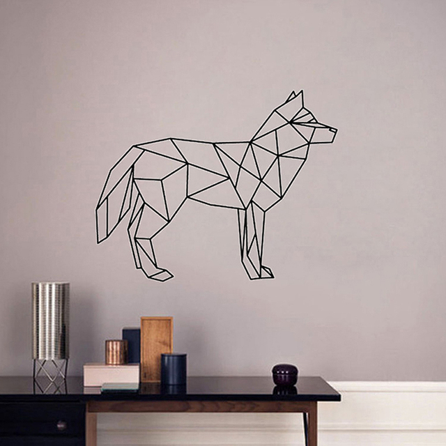Creative Colorful Animal Horse Wall Sticker Mural Art House