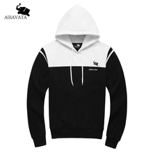 Brand Clothing Men's Heavy Hoody Autumn Winte Man Fashion Sweatshirts Cotton Fleece Hoody Male's Pullover Hoodie Patchworked