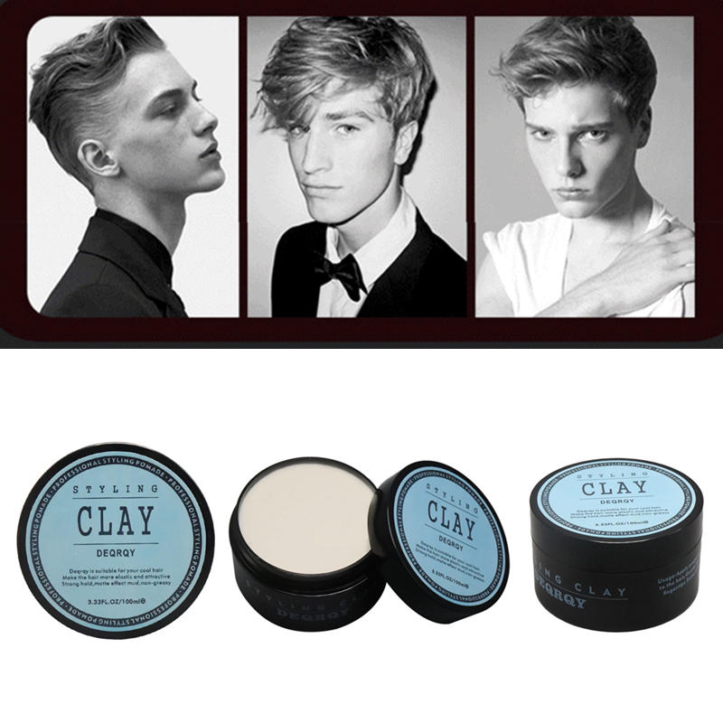 Factory Price Men Original Hair Styling Clay Matte Finished Hair High Strong Hold Low Shine Styling Clay 100ML / 3.33FL.OZ