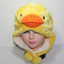 autumn winter hats costume Cosplay Chicken Duck animal Hat for child Kids Women Men White Black