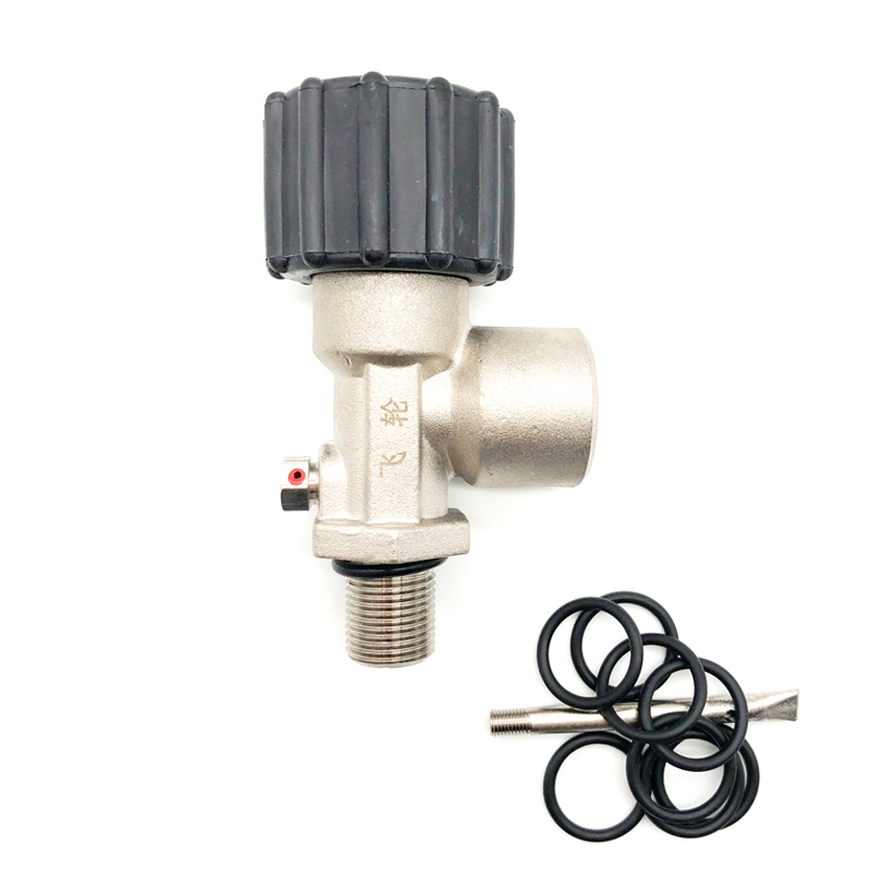 PCP Paintball Din Valve Tank ON/OFF Adapter For CF Tank/M18 Bottles M18 Male G5/8 Female 30Mpa/4500psi DING8518