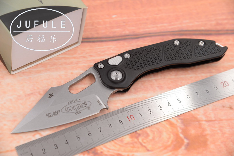JUFULE New OEM Stitch Flipper folding M390 blade 6061-T6 Aluminum handle outdoor tactical camping hunting EDC tool kitchen knife jufule new oem stitch flipper folding m390 blade 6061 t6 aluminum handle outdoor tactical camping hunting edc tool kitchen knife