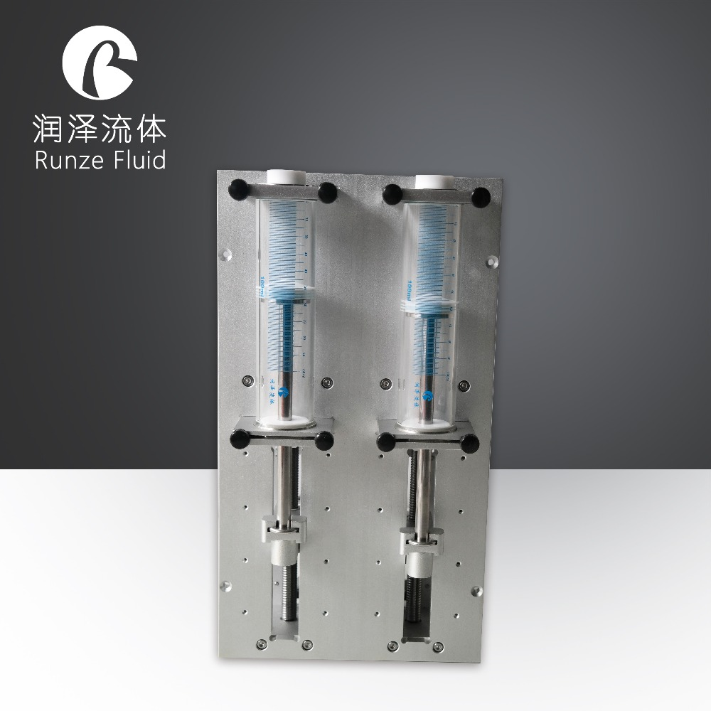 Accurate Stepper Motor Syringe Pump Price Microliter Chemical Dispensing Software Control Support High Reliability Easy Cleaning in Pumps from Home Improvement