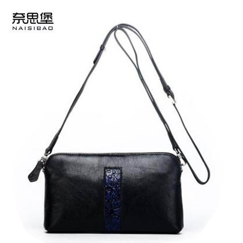 2017 New genuine leather women bag luxury handbags women bags designer casual women shoulder messenger bag leather cowhide bag цены