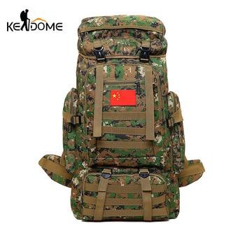 Mochila Militar para hombre y mujer, bolsa de deporte, mochilas de Trekking, mochilas tácticas de camuflaje, Mochila de viaje multifuncional xa820wd