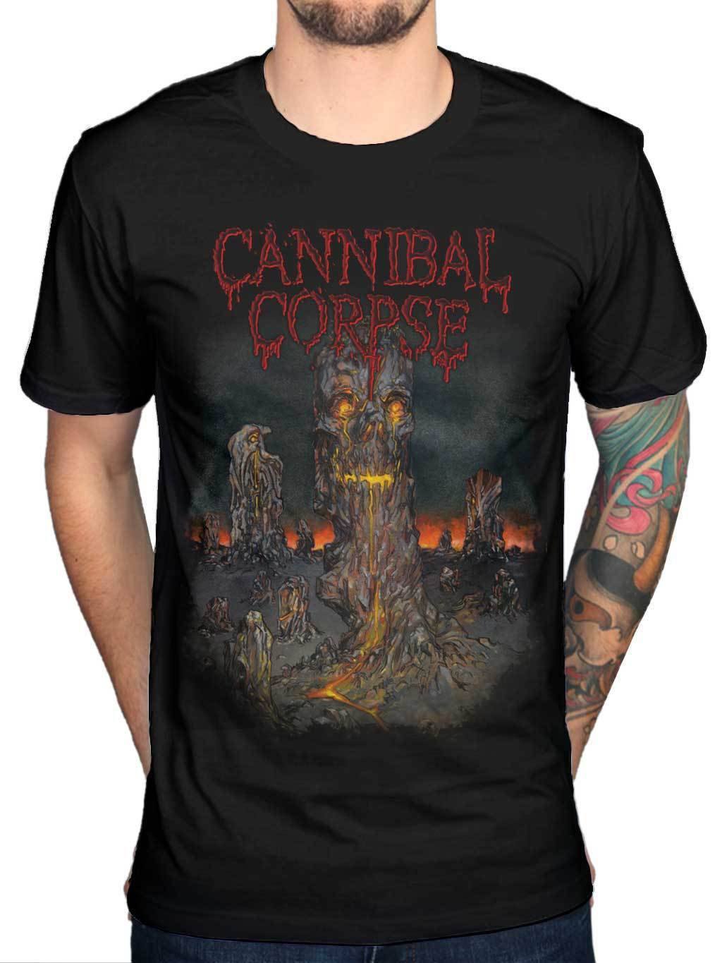 Official Cannibal Corpse Skeletal Domain 3 T Shirt Band Death Metal Bloodthirst