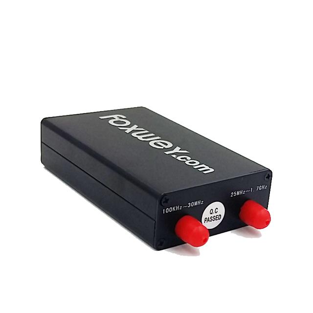 Melhor RTL SDR radio receiver com frete RTL2832 SDR e R820T SDR rádio software com Chip para 100 KHz-1.7 GHz espectro completo