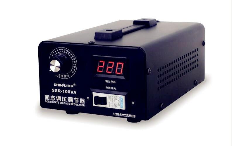 220 V 10KW haute précision réglable Thyristor régulateur de tension électronique/silicium, régulateur de tension à semi-conducteurs monophasé