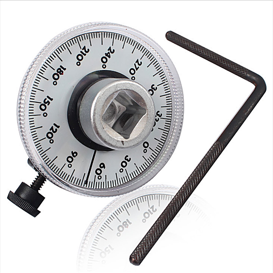New Arrival Professional Adjustable 1/2 inch Drive Torque Angle Gauge Car Auto Garage Tool Set Measure Hand Tool Wrench