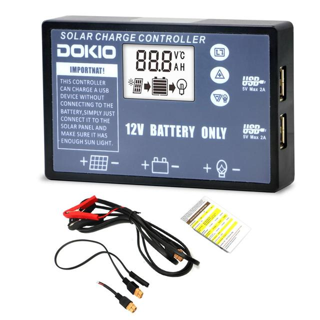 Dokio Flexible Foldable Solar Panel High Efficience Travel & Phone & Boat Portable 12V 80w 100w 150w 200w 300w Solar Panel Kit 5