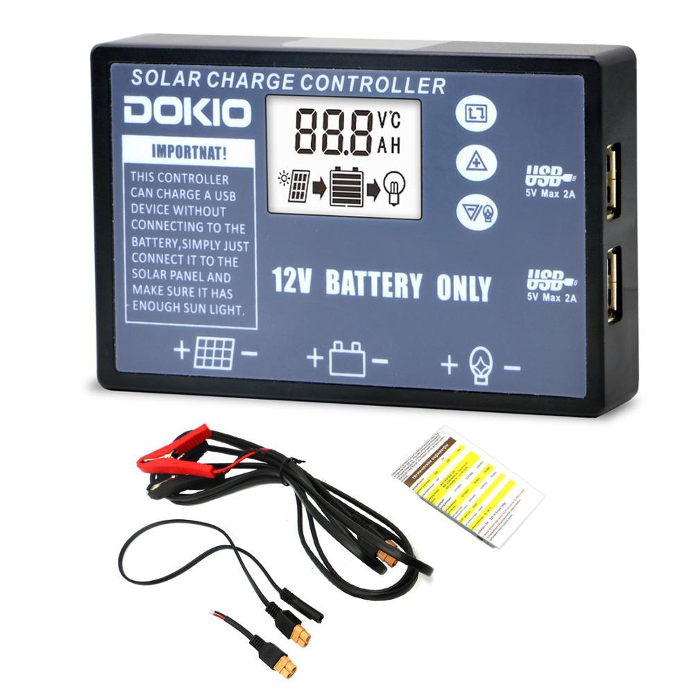 Dokio Flexible plegable del Panel Solar de alta eficiencia de viajes y teléfono y barco portátil 12V 80w 100w 150w 200w 300w Kit de Panel Solar - 5