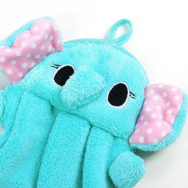 Tienda Online Coreano de dibujos animados terciopelo coral toalla de ...