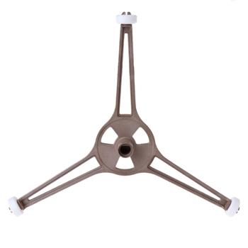 Kuchenka mikrofalowa plastikowa taca w kształcie trójkąta wsparcie dla 24 5cm szkło płaskie płyty tanie i dobre opinie HNGCHOIGE CN (pochodzenie) Części kuchenka mikrofalowa Tray Support