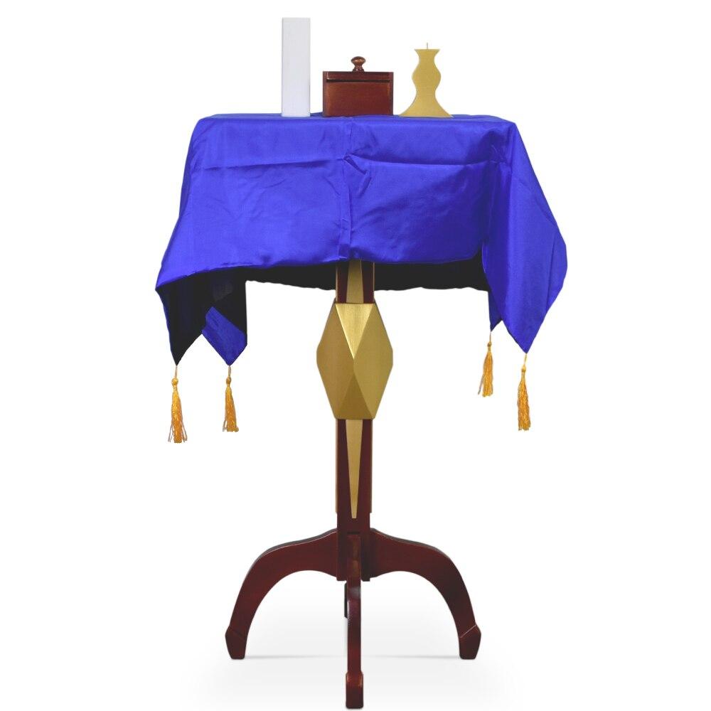 Table flottante carrée multifonction avec boîte Anti-gravité chandelier de Pot de fleur tours de magie étonnants accessoires d'illusion de magie de scène