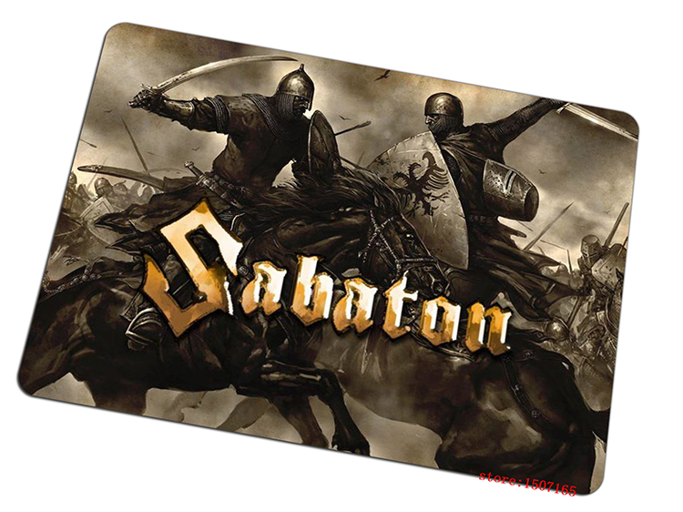 sabaton mouse pad Domineering gaming mousepad Professional gamer mouse mat pad game computer desk padmouse keyboard play mats