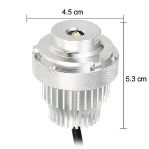 Image 4 - Juego de 2 uds. Angel Eyes de luces LED, 80W, sin Error, para BMW serie 5, E60, E61, LCI