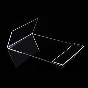 Image 2 - New 10pcs/lot High Quality Clear 6x9cm L Shape Acrylic Table Sign Price Tag Label Display Paper Promotion Card Holder Stand