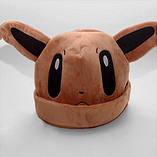 2016 New Arrival 9 Types Pokemon Hats Cosplay Apparel Accessories Kids Best Gifts Anime Cartton Plush Beanies Bonnet Cap 65AA513
