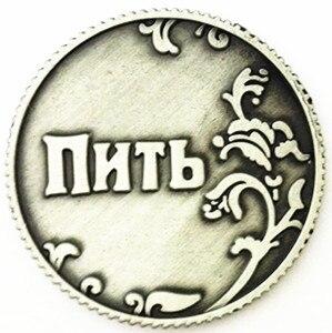 € 0.88 12% de réduction Livraison Gratuite Russie Cas pièces soccer  commémorative pièces jolie maison table de fête décoration jeu jouet  Vintage feng ...