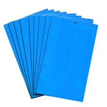 Strong Flies Traps Bugs Sticky Board Economic 20pcs Blue Double Side Yard Orchard Fungus