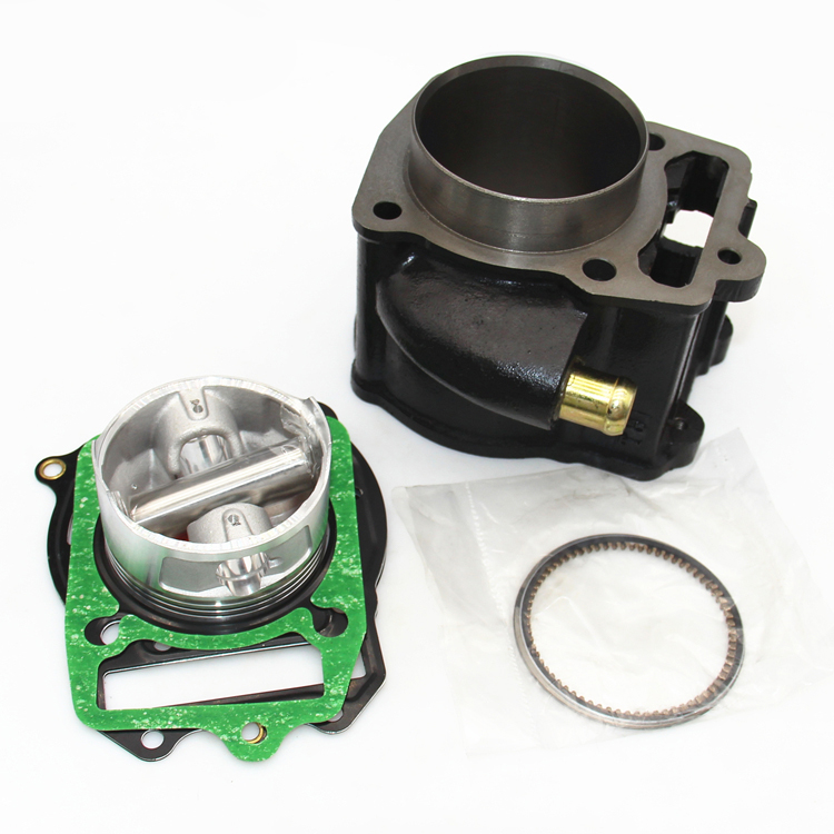 цены 72MM Water cooling Motorcycle Cylinder Kit With Piston And Pin for Honda CN250 CF250 CH250 Moped ATV CN CF 250 250CC
