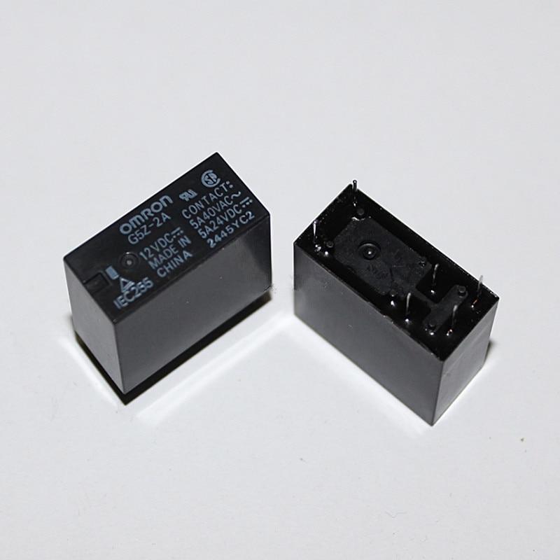 5pcs G5Z-2A-24VDC ORIGINAL G5Z-2A Relay NEW