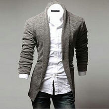 Cardigan Sweater Men 2016 New Brand Turn-down Collar Knitted Cardigans Clothing Long Sleeve Knitting Sweater Tops Coat MC07