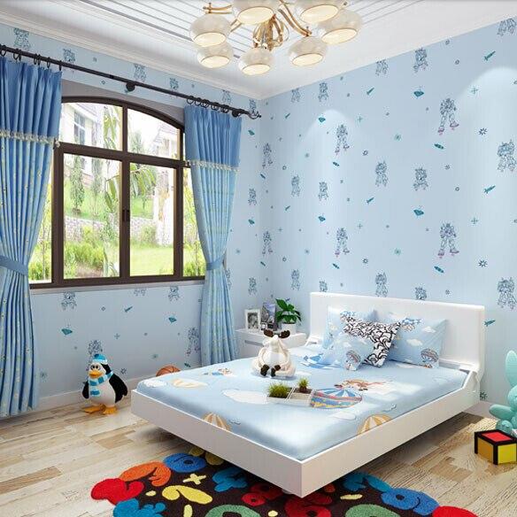 free shipping ahlstrom children bedroom wallpaper boy cartoon non