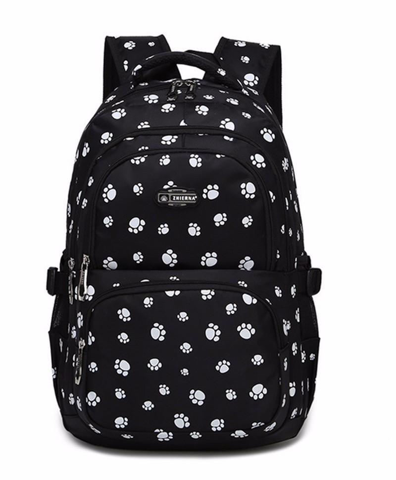 Fashion kids book bag breathable backpacks children school bags women leisure travel shoulder backpack mochila escolar infantil 18