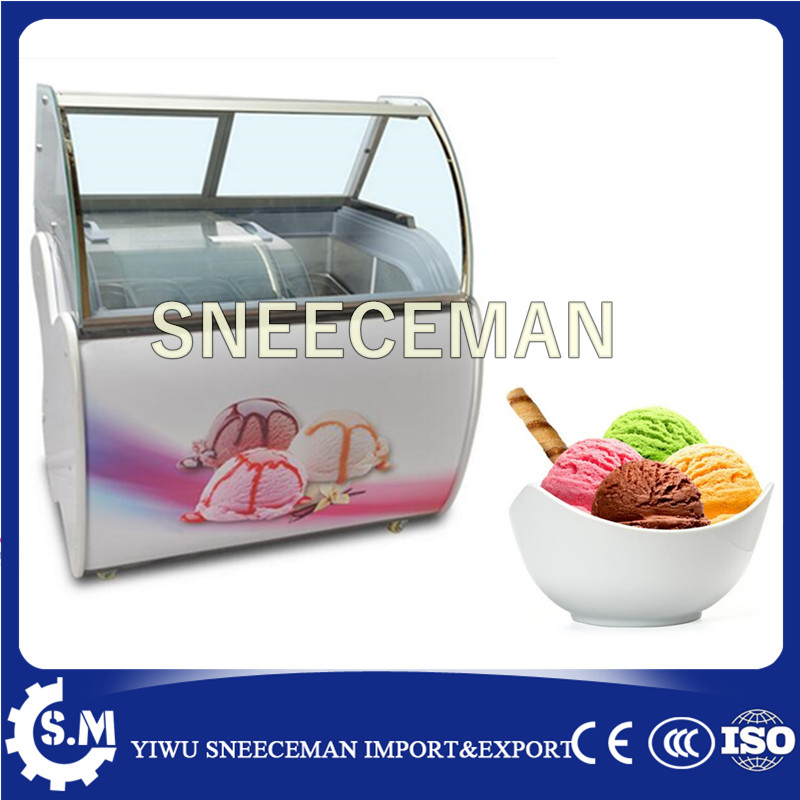 High Quality Ice Cream Fridge Ice Cream Display Cabinet Ice Cream Cabinet With CE For Sale