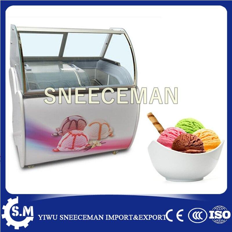 High Quality Ice Cream Fridge Ice Cream Display Cabinet Ice Cream Cabinet With CE For Sale