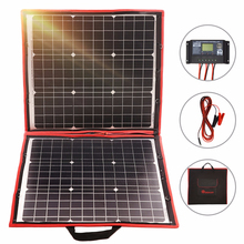 Dokio 80W Solar Panel 12V/18V Flexible Foldble Solar Panel usb Portable Solar Cell Kit For Boats/Out-door Camping Solar Panel