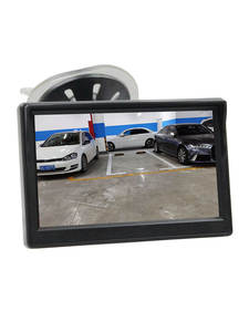 DIYKIT Car-Rear-View-Monitor Lcd-Display 5inch Free-Bracket 800x480 TFT with Suction-Cup
