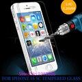 0.26 мм для iphone 5 Закаленное Стекло для iPhone 5 5s Протектор экрана Протектор Экрана 5c premium 5S Передняя ясный протектор экрана