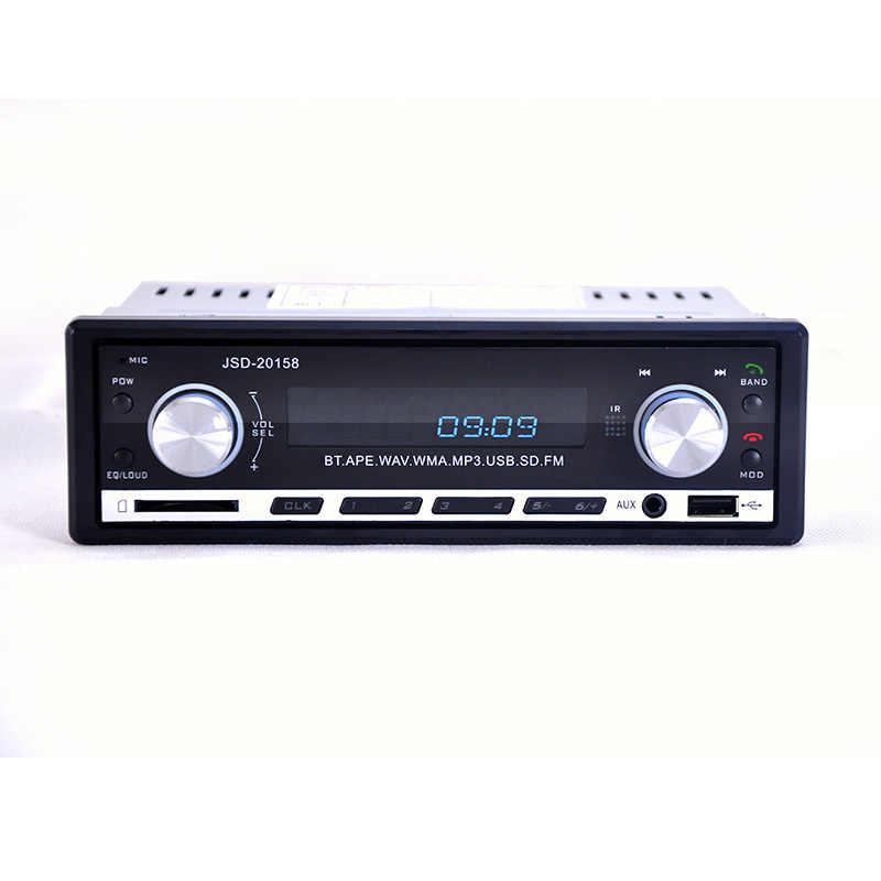 لبو سيارة راديو مشغل إستريو بلوتوث الهاتف AUX-IN MP3 FM/USB/1 الدين/التحكم عن بعد ل فون 12 فولت سيارة الصوت السيارات 2019 بيع جديد