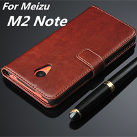 Fundas Meizu M2 Note High Quality Flip Cover Case Magnetic Leather Holster For Meizu M2 Note