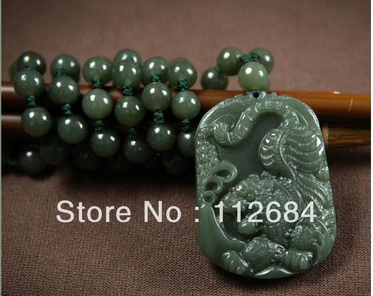 Hetian jade tiger god beast tiger jade bead necklace zodiac tiger hetian jade tiger god beast tiger jade bead necklace zodiac tiger male money jade pendant in pendants from jewelry accessories on aliexpress alibaba mozeypictures Images