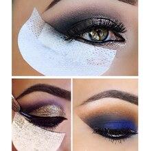 10Pcs=5Pack Eyelash Extension Paper Pads Eye Lash Stickers T