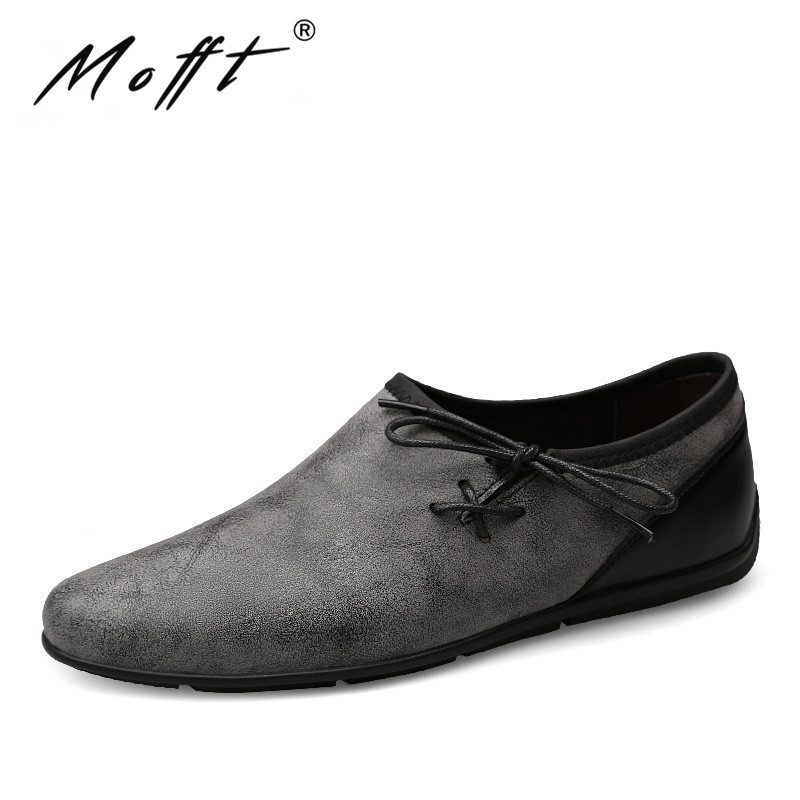 New Designer Men Casual Shoes Summer Flats Fashion Slip on Driving Shoes Moccasins Leather Men Loafers
