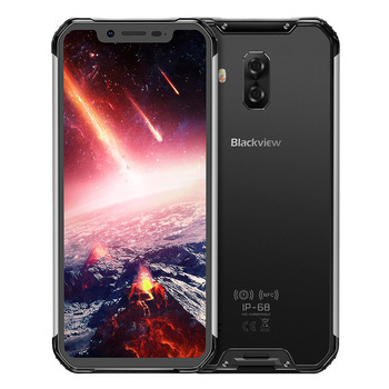 Купить Blackview BV9600 Pro смартфон NFC IP68 водонепроницаемый мобильный телефон AMOLED 5580 мАч Android 8,1 Helio P60 6 ГБ + 128 Гб 6,21 дюйм19:9 FHD