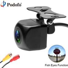 Podofo Rear View Camera Car Back Reverse Camera SONY MCCD Fish Eyes IP68 Waterproof Night Vision Parking Assistance Cameras