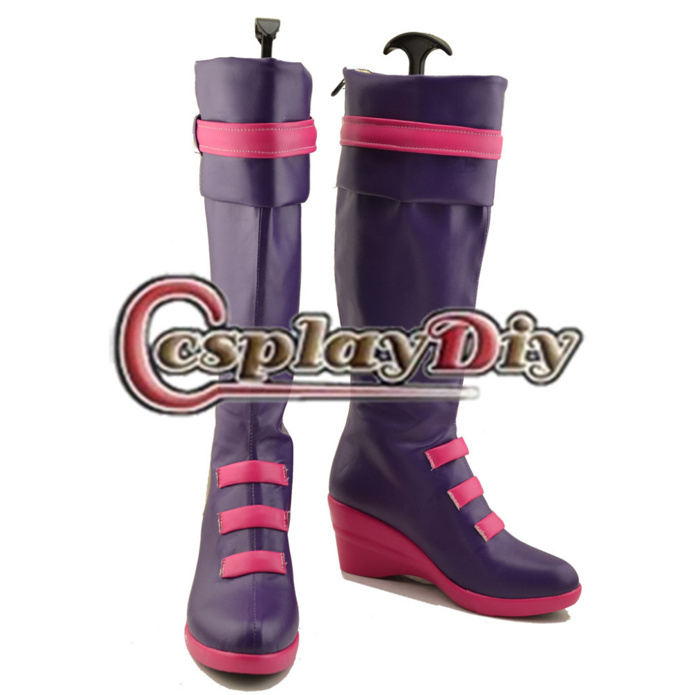 ФОТО Miss Fortune LOL Cosplay Boots Shoes Adult Women Girls Cosplay Shoes Custom Made
