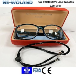 Original Medical ray protective lead glasses/spectacles,0.5mmpb lead equivalent,front & side protective,passed CE,FDA,ISO9001.