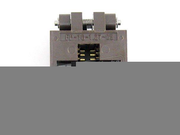 SOP16 SO16 SOIC16 FP-16-1.27-05 Enplas IC Test Burn-in Socket Adapter 1.27mm Pitch бесплатная доставка интегральные схемы типов cs5124xd8 ic reg ctrlr flybk iso pwm 8 soic 5124 cs5124 3 шт