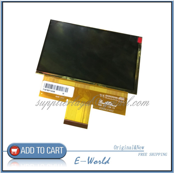 Original 5 8inch HTP058JFHG02 LCD screen display panel 1280 768 for projector high definition screen Free
