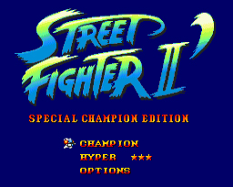 Street Fighter II Special Champion Edition 16 bit MD Game Card For Sega Mega Drive For SEGA Genesis