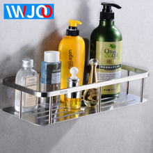Bathroom Rack Shelf Shower Organizer Wall Mounted Corner Storage Holder Shelves Stainless Steel Cosmetic Shampoo Shelf Basket стоимость
