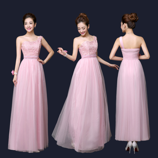 9ff722370c5 Beaded Belt Embellished Long Maxi Evening Gown Formal Dresses for Tall  Juniors Graduation Ceremony Blue Pink Teenage Party Wear